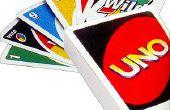 Hoe te spelen UNO met gewone speelkaarten