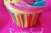 Regenboog Swirl kers