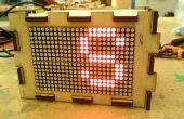 Morse codegenerator voor de 16 x 24 HT1632C LED Matrix-ik maakte het op TechShop