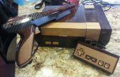 Vintage crossover NES systeem en Zapper
