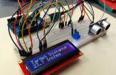 Arduino ultrasone Sensor LCD afstandsmeting