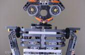 Menselijke robot met lego NXT