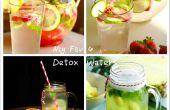 Mijn favoriete 4 Easy Homemade Detox Water recepten