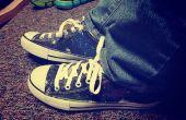 DIY Galaxy schoenen