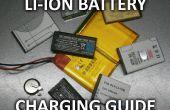 Opladen van de batterij Li-Ion