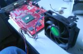 AMD CPU Cooling Fan [PEVF op een PowerColor ATI Radeon X1650 grafische kaart.