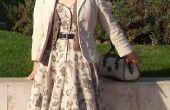 Kappen in 1950: Hoe kopieer die Vintage jurk