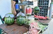 Hoe pel ik een watermeloen