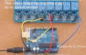 Home Automation - Relais toevoegen aan Arduino