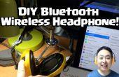 DIY Wireless Bluetooth hoofdtelefoon met oor muf