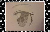 Hoe teken je een Anime-Eye