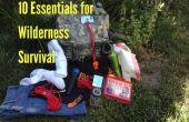 10 essentials voor Wilderness Survival