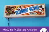 Hoe maak je een Arcade Marquee Lightbox