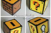 Hoe maak je een 3D-Mario Coin box!