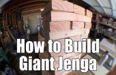 Hoe het bouwen van een reuze Jenga set