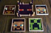 Minecraft houten Drink Coasters