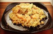 Aziatische Noodle Stir Fry (Fake Pad Thai)