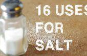 16 ongebruikelijke toepassingen voor zout