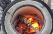 Tandoor Oven van vat roker