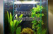 DIY LED kap voor een 20 Gallon Zeshoek Aquarium Tank