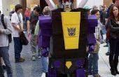 """Hoe maak je een Transformers: eerste """"Shrapnel"""" kostuum"""