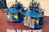 Zwerm Bots: Montage en vervoer van coöperatieve