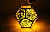 Lasergesneden Spooky lantaarn met Emblaser