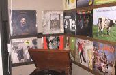 Vinyl Record planken