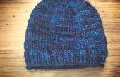 DIY |  Een hoed zonder een patroon breien | Basisontwerp eenvoudig