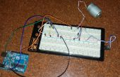 Met behulp van een temperatuursensor de snelheid van een motor met behulp van arduino