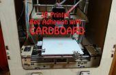 Karton: Alternatieve 3D Printer Bed hechting