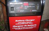 150 amp Motomaster batterij lader Fan Controller diagnose en reparatie