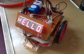"""""""DIY - de uitstekende lijn TRACER ROBOT zonder MICROCONTROLLER"""""""
