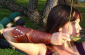 Mehndi geïnspireerde leer Bracers