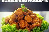 Krokante doorgewinterde zelfgemaakte Nuggets met Sweet & zure saus!