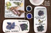 Blauwe Foods! Kleurrijke koken zonder kunstmatige kleurstoffen