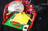 3D-chocolade printer gemaakt van LEGO