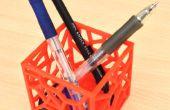 Het TinkerCAD gebruik te maken van een pennenhouder