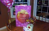 Aftelkalender voor Valentijnsdag Twizzler bloemen