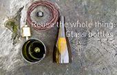 Hergebruik van het geheel: glazen flessen
