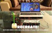 OPNIEUW! : Recycling energie van Computers voor echte efficiëntie en totale energie!