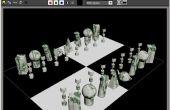 A gerecycleerd aangepaste Chess Set maken (echt goedkoop)
