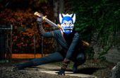 """Hoe maak je een Avatar: The Last Airbender = """"Blue Spirit"""" kostuum"""