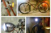 Vintage fietsverlichting naar LED conversie