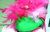Flamingo Fascinator