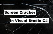 Hoe maak je een C#-toepassing die uw scherm in een gebarsten verandert