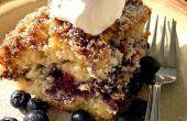 Blueberry land koffie taart