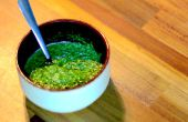 Groene peterselie saus | How to Make | Koken met Benji