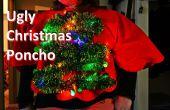 Licht-up kerstboom lelijke trui/Poncho