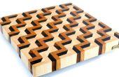 Maken van een 3D einde graan snijplank νm;3